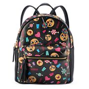 Happy Candy Print Mini Backpack