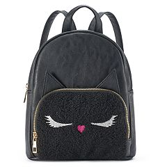 Fuzzy Kitty Mini Backpack