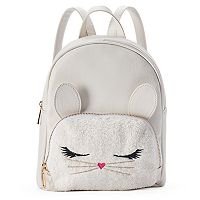 Fuzzy Bunny Mini Backpack
