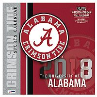 Alabama Crimson Tide 2018 Wall Calendar