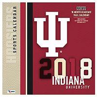 Indiana Hoosiers 2018 Wall Calendar