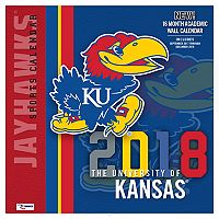 Kansas Jayhawks 2018 Wall Calendar