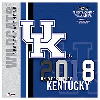 Kentucky Wildcats 2018 Wall Calendar