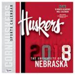 Nebraska Cornhuskers 2018 Wall Calendar