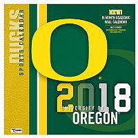Oregon Ducks 2018 Wall Calendar