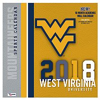 West Virginia Mountaineers 2018 Wall Calendar