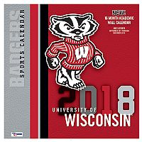 Wisconsin Badgers 2018 Wall Calendar