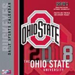 Ohio State Buckeyes 2018 Daily Box Calendar