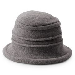 Women's Scala Knit Wool Packable Cloche Hat