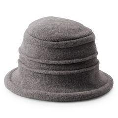 f234c890 Women's Scala Knit Wool Packable Cloche Hat