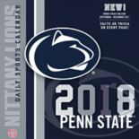 Penn State Nittany Lions 2018 Daily Box Calendar
