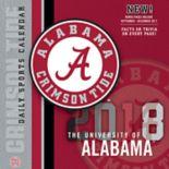 Alabama Crimson Tide 2018 Daily Box Calendar