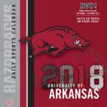 Arkansas Razorbacks 2018 Daily Box Calendar