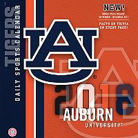 Auburn Tigers 2018 Daily Box Calendar