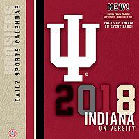 Indiana Hoosiers 2018 Daily Box Calendar