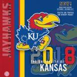 Kansas Jayhawks 2018 Daily Box Calendar