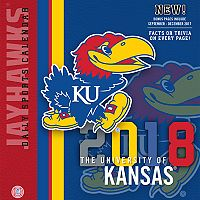 Kansas Jayhawks 2018 Daily Box Calendar