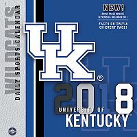 Kentucky Wildcats 2018 Daily Box Calendar
