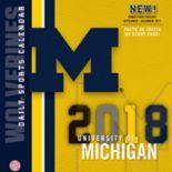 Michigan Wolverines 2018 Daily Box Calendar