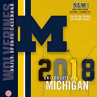 Michigan Wolverines 2018 Daily Box Calendar