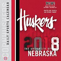 Nebraska Cornhuskers 2018 Daily Box Calendar
