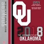 Oklahoma Sooners 2018 Daily Box Calendar