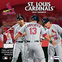 St. Louis Cardinals 2018 Wall Calendar