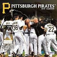Pittsburgh Pirates 2018 Wall Calendar