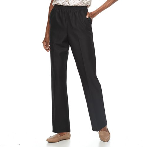Petite Alfred Dunner Pull-On Pants