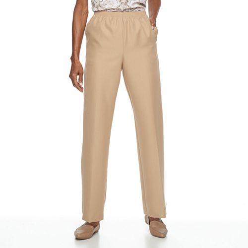 1f29997081f6ab Petite Alfred Dunner Studio Pull-On Pants