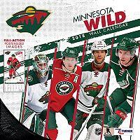 Minnesota Wild 2018 Wall Calendar