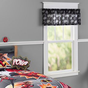 Disney / Pixar The Incredibles 2 Window Valance by Jumping Beans