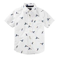 Toddler Boy OshKosh B'gosh® Birds Button Down Shirt