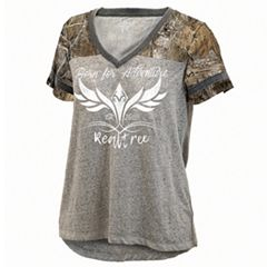 Women's Realtree 'Born For Adventure' Oversized Graphic Tee