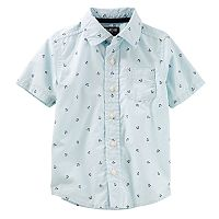 Toddler Boy OshKosh B'gosh® Nautical Anchor Button Down Shirt