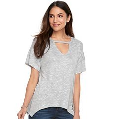Women's Juicy Couture Cutout Shark-Bite Tee