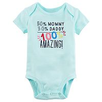 Baby Girl Carter's Embroidered Graphic Bodysuit