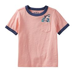 Toddler Boy OshKosh B'gosh® 'Jawesome Shark Tours' Shark Pocket Tee