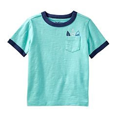 Toddler Boy OshKosh B'gosh® 'Surf' Surfboards Pocket Tee