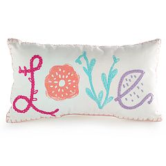 SONOMA Goods for Life™ Kids 'Love' Embroidered Throw Pillow