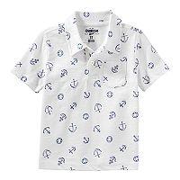 Toddler Boy OshKosh B'gosh® Anchors Pocket Polo