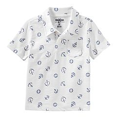 Toddler Boy OshKosh B'gosh® Anchors Pocket Polo