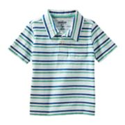 Toddler Boy OshKosh B'gosh® Striped Pocket Polo