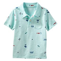 Toddler Boy OshKosh B'gosh® Beach & Waves Pocket Polo