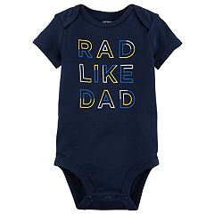 Baby Boy Carter's 'Rad Like Dad' Graphic Bodysuit