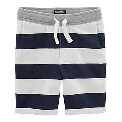 Toddler Boy OshKosh B'gosh® Striped Slouch Knit Shorts