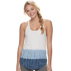 Juniors' SO® Slubbed Shirttail Tank