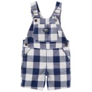 Toddler Boy OshKosh B'gosh® Checkered Shortalls