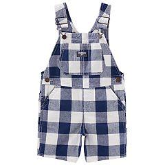 Toddler Boy OshKosh B'gosh® Checkered Shortalls