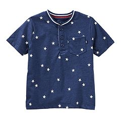 Toddler Boy OshKosh B'gosh® Stars Pocket Henley